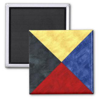 Imán Bandera marítima de la señal náutica de la