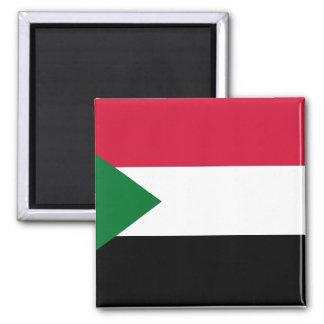 Imán Bandera nacional del mundo de Sudán