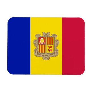 Iman Bandera patriótica de Andorra