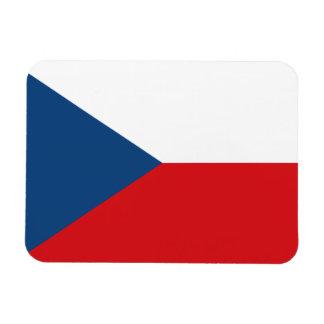 Iman Bandera patriótica de la República Checa