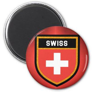 Imán Bandera suiza