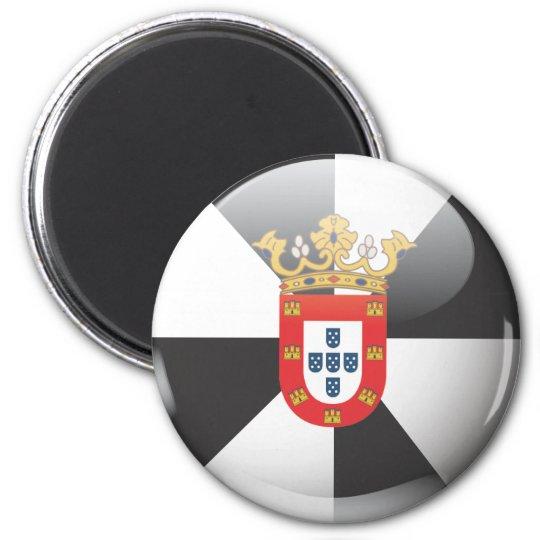 Imán Bandera y escudo de Ceuta