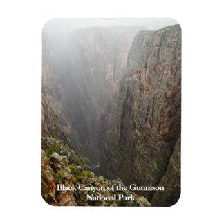 Iman Barranco negro del parque Colorado de Gunnison