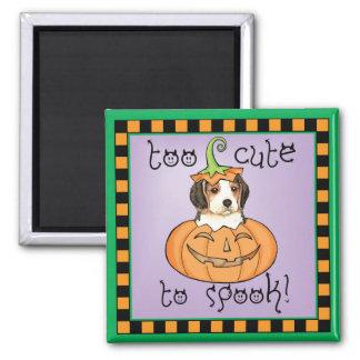 Imán Beagle de Halloween