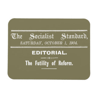 Imán Beige editorial de octubre del estándar socialista