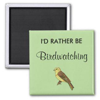 Imán Birdwatching bastante
