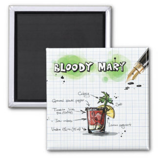 Imán Bloody mary