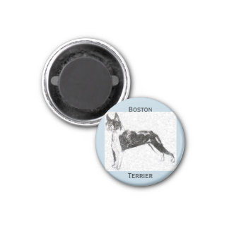 Imán Boston Terrier