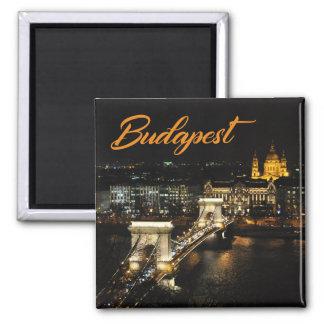 Imán Budapest, el puente de cadena del castillo de Buda