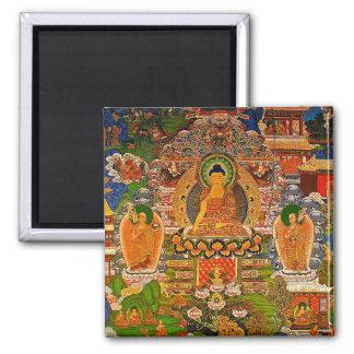 Imán Buddhism budista de Buda que bendice al bohemio de