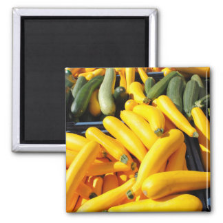 Imán Calabaza en amarillo y verde