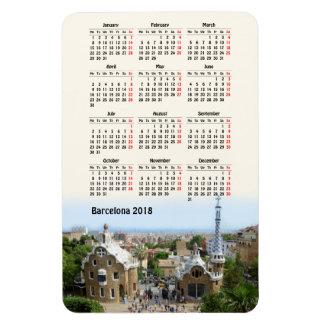Iman Calendario de Barcelona, España 2018