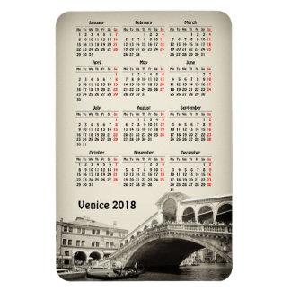 Iman Calendario de Venecia, Italia 2018