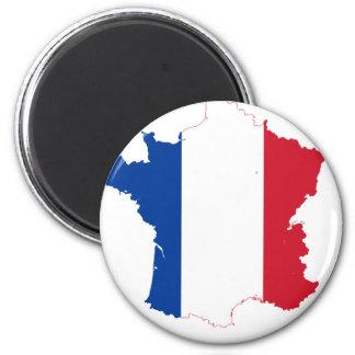Imán Camiseta mapa-de-Francia