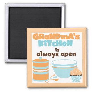 Imán Camisetas y regalos siempre abiertos de la cocina