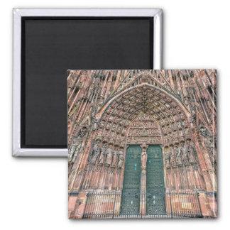 Imán Cathedrale Notre-Dame, Estrasburgo, Francia