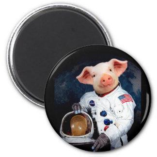 Imán Cerdo del astronauta - astronauta del espacio