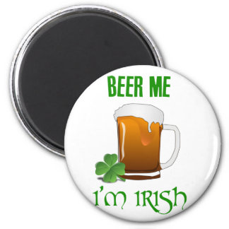 Imán Cerveza yo soy irlandés