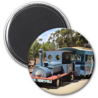 Imán Chicloso, locomotora del motor del tren