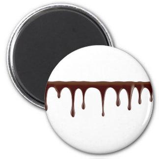 Imán Chocolate derretido