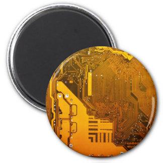 Imán circuito electrónico amarillo board.JPG