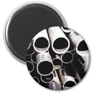 Imán círculos apilados del acero