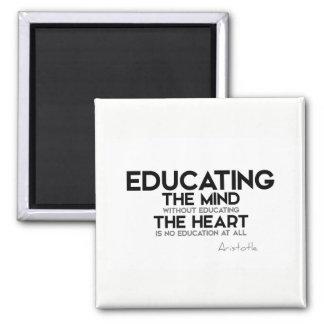 Imán CITAS: Aristóteles: Educación de mente, corazón