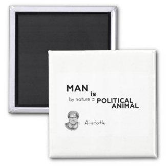 Imán CITAS: Aristóteles: Hombre: animal político