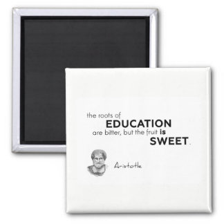 Imán CITAS: Aristóteles: Raíces de la educación