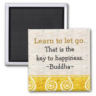 Imán Citas inspiradas Buddha|Happiness