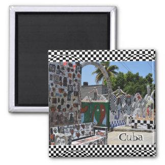 Imán Ciudad del arte de La Habana Cuba Fusterlandia