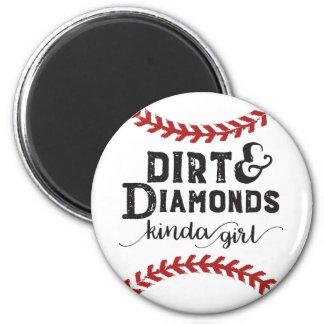 Imán Clase de la suciedad y de los diamantes de tema
