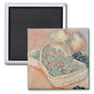 Imán Claude Monet el | la cesta de uvas, 1884