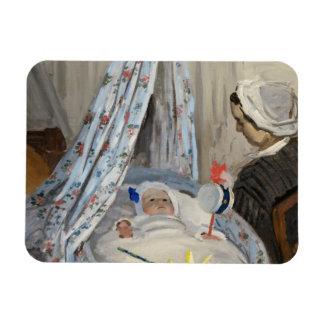 Iman Claude Monet el | la cuna, Camilo con el hijo Jean