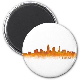 Imán cleveland Ohio USA Skyline city v02