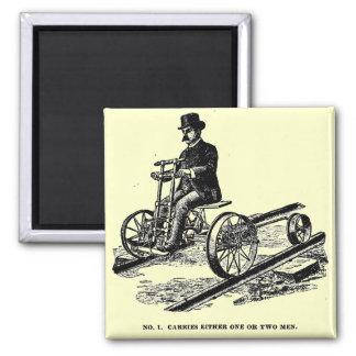 Imán Coche 1887 de la mano del ferrocarril del