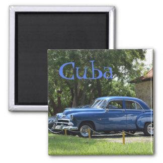 Imán Coches americanos retros clásicos en Cuba