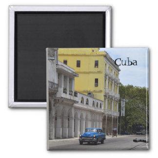 Imán Coches viejos del viaje de Cuba