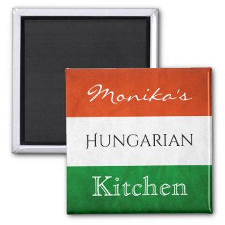 Imán Cocina húngara personalizada