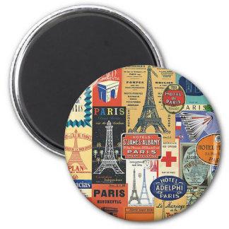 Imán Collage Paris