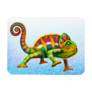 Imán colorido del camaleón de la pantera
