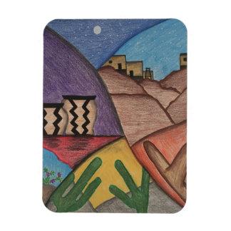 Imán colorido del desierto del sudoeste del arco