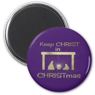 Imán Colorido mantenga a Cristo imanes del navidad