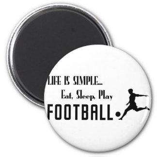 Imán coma el fútbol del juego del sueño