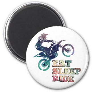 Imán Coma la bici de la suciedad del paseo del sueño