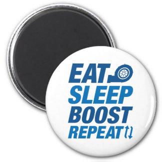 Imán Coma la repetición del alza del sueño