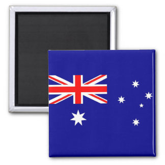 Imán con la bandera de Australia