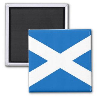 Imán con la bandera de la Escocia
