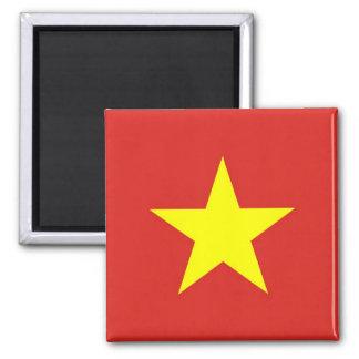 Imán con la bandera de Vietnam