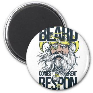 Imán con la gran barba viene la gran responsabilidad